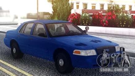 Ford Crown Victoria Classic Blue para GTA San Andreas