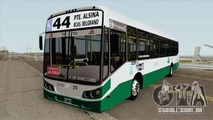 Linea 44 Todobus Pompeya II Agrale MT17 Interno para GTA San Andreas