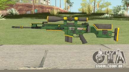 CS-GO SCAR-20 (Powercore Skin) para GTA San Andreas