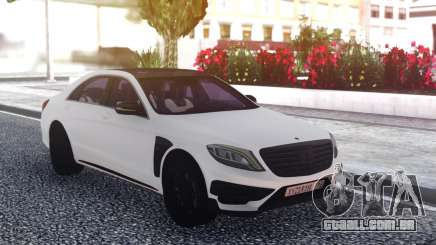 Mercedes-Benz B850 W222 White para GTA San Andreas