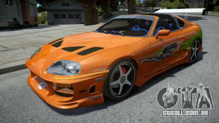 Toyota Supra Fast and the Furious para GTA 4