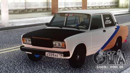 VAZ 2107 Sport Tuning para GTA San Andreas