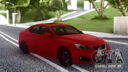 Lexus IS-F 2008-2012 para GTA San Andreas