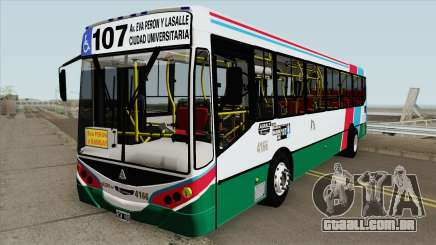 Linea 107 Metalpar Iguazu II Agrale MT15 Interno para GTA San Andreas