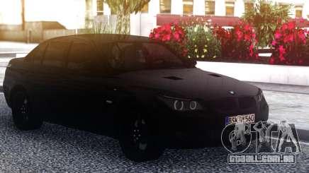 BMW M5 E60 Black Sedan para GTA San Andreas