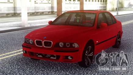 BMW E39 Stock Red para GTA San Andreas