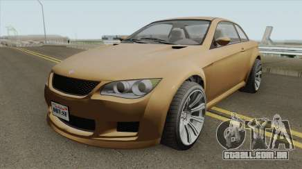 Ubermacht Sentinel XS Custom Stock GTA V IVF para GTA San Andreas