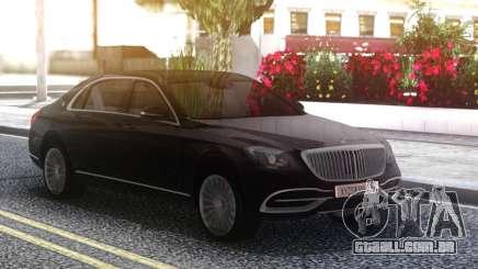 Mercedes-Benz Maybach Sedan para GTA San Andreas