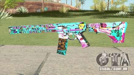 M4 (Cartoon Skin) para GTA San Andreas