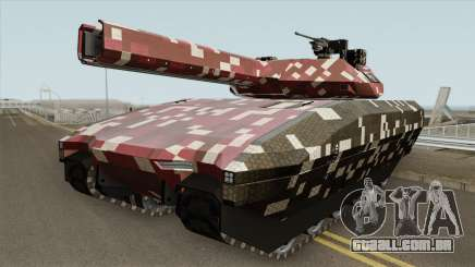 Khanjali With Digital Camouflage Livery V2 para GTA San Andreas