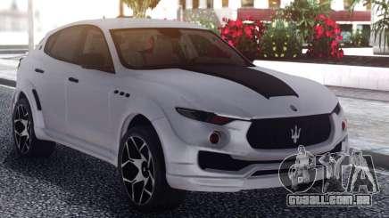 Maserati Levante Novitec para GTA San Andreas
