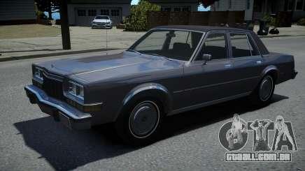 Dodge Diplomat 1983 para GTA 4