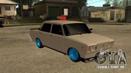 2107 De Combate Clássico Azul Discos para GTA San Andreas