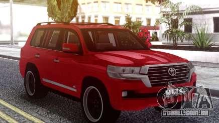 Toyota Land Cruiser 200 B7 para GTA San Andreas