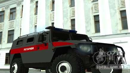 GAZ 2330 Regardie para GTA San Andreas