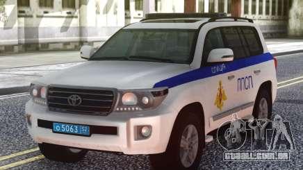 Toyota Land Cruiser UMVD da Rússia para GTA San Andreas