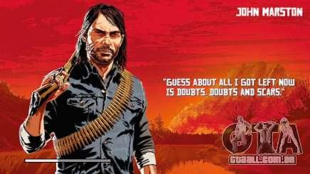 Red Dead Reception 2 Loadscreen (HD) para GTA San Andreas