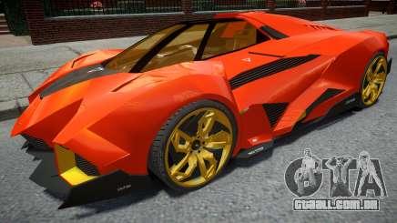 Lamborghini Egoista Orange para GTA 4