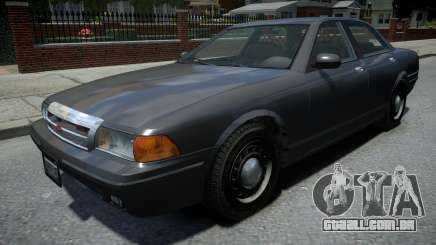 Vapid Stanier Unmarked Cruiser para GTA 4