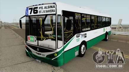 Linea 76 Metalpar Iguazu II Agrale MT17 Interno para GTA San Andreas
