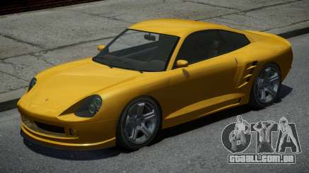 Pfister Comet Yellow para GTA 4