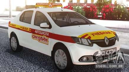 Renault Logan Escola De Condução Online para GTA San Andreas