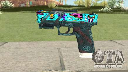 Desert Eagle (Cartoon Skin) para GTA San Andreas