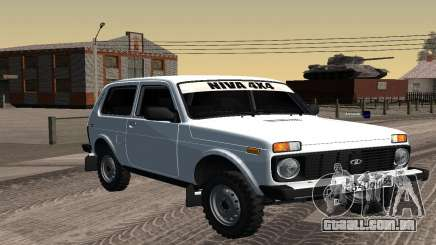Um Branco VAZ 2121 Niva para GTA San Andreas