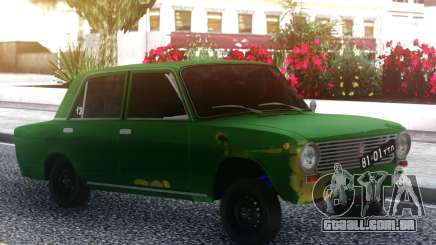 VAZ 2101 Verde para GTA San Andreas