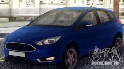 Ford Focus 3 Original para GTA San Andreas