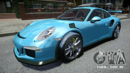 Porsche 911 GT3 RS 2016 para GTA 4