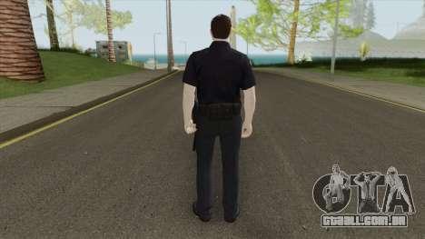 GTA Online Random Skin 18 SFPD Officer para GTA San Andreas