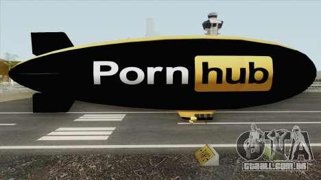 Blimp GTA V (PornHud) para GTA San Andreas
