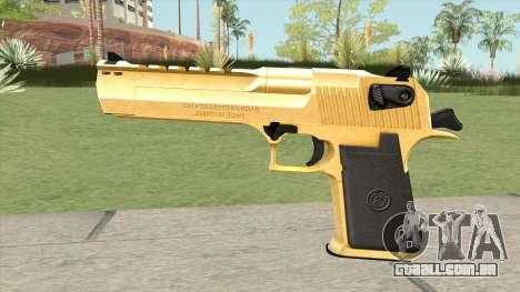 Desert Eagle Gold (HQ) para GTA San Andreas