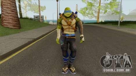 Leonardo (TMNT: Out Of The Shadows) para GTA San Andreas