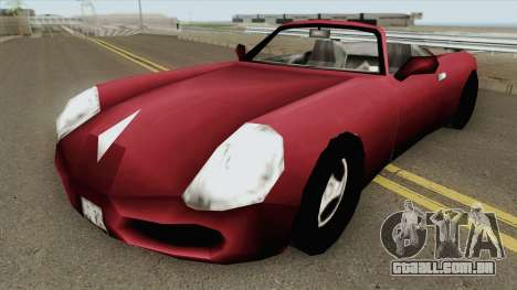 Stinger GTA III para GTA San Andreas
