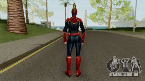 Captain Marvel From Movie In Mask para GTA San Andreas