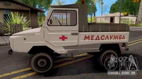 LuAZ-2403 Serviço De Ambulância para GTA San Andreas