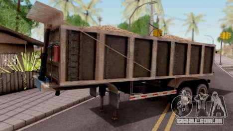 Trailer Volco (Desgastado) para GTA San Andreas