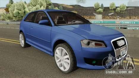 Audi A3 2010 para GTA San Andreas