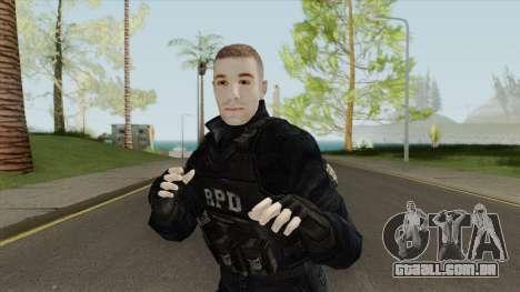 Custom R.P.D. S.W.A.T. para GTA San Andreas