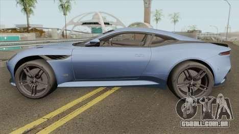 Aston Martin DBS Superleggera 2019 para GTA San Andreas