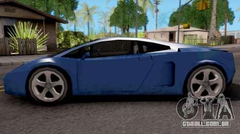 Veloce (Vacca) para GTA San Andreas