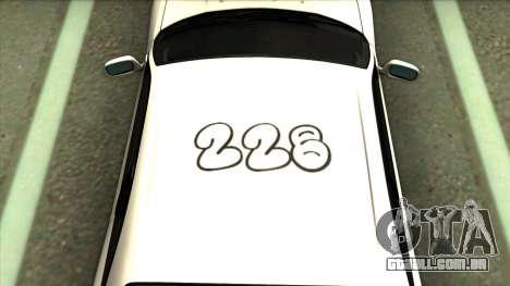 Nissan Skyline GTR 33 para GTA San Andreas
