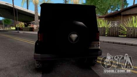 Benefactor Dubsta para GTA San Andreas