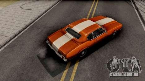 Sabre Turbo GTA VC para GTA San Andreas