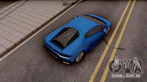 Lamborghini Huracan LP-700 para GTA San Andreas