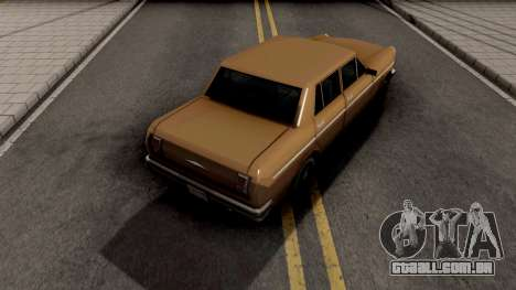 Declasse Asea v3 para GTA San Andreas