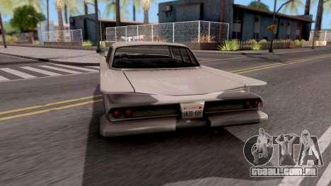 Declasse Savanna 1960 para GTA San Andreas