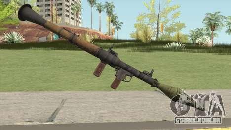 Rocket Launcher HQ para GTA San Andreas